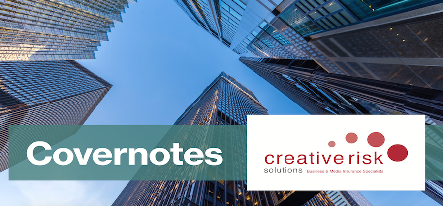 Our Spring 2019 Covernotes Newsletter Has Arrived